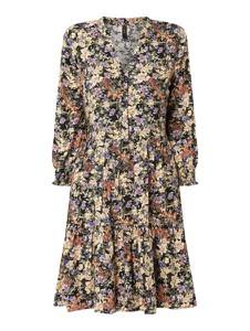 Sukienka YAS z długim rękawem koszulowa z dekoltem w kształcie litery v