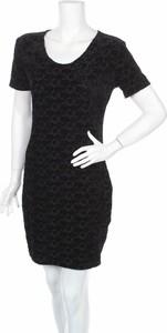 Czarna sukienka H&k Collection prosta w stylu casual mini