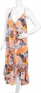 Sukienka Resort z dekoltem w kształcie litery v maxi