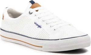 Tenisówki WRANGLER - Ray Knitted WM11130A White 051