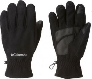 Czarne rękawiczki Columbia