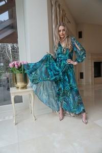 Sukienka Ella Boutique z długim rękawem mini