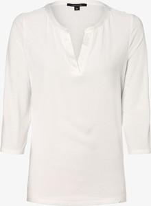T-shirt comma, z dekoltem w kształcie litery v