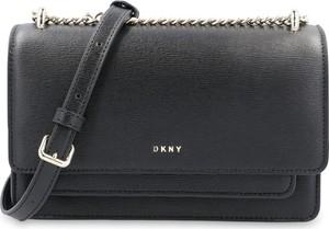 Torebka DKNY ze skóry matowa