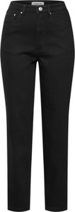 Czarne jeansy EDITED w street stylu