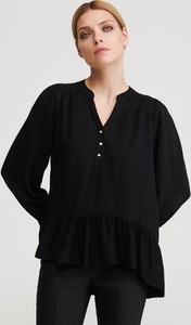 Bluzka Reserved w stylu casual z dekoltem w kształcie litery v