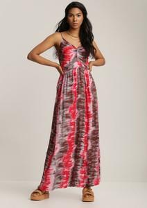 Sukienka Renee maxi w stylu boho na ramiączkach