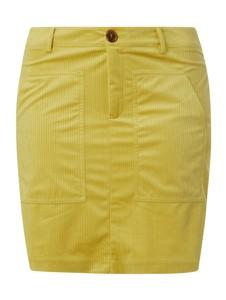 Żółta spódnica Vero Moda mini w stylu casual