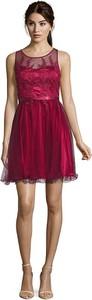 Sukienka Vera Mont z okrągłym dekoltem bez rękawów rozkloszowana