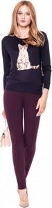 Sweter L'AF w street stylu z jeansu