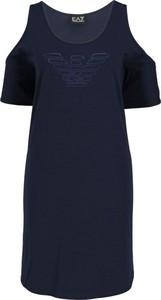 Sukienka EA7 Emporio Armani w stylu casual