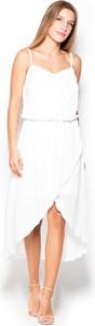 Sukienka Katrus w stylu boho z okrągłym dekoltem