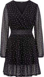 Sukienka bonprix z dekoltem w kształcie litery v mini