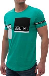 T-shirt Ivet.pl w młodzieżowym stylu z krótkim rękawem
