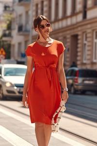 Czerwona sukienka Fasardi
