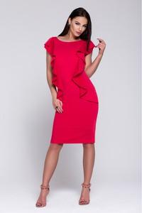 Sukienka Wox z krótkim rękawem