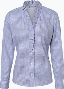 Niebieska koszula Apriori z długim rękawem