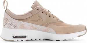 Buty sportowe Nike z płaską podeszwą ze skóry air max thea