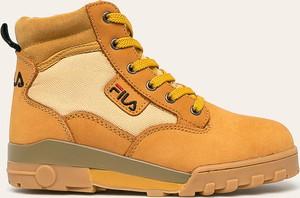 Sneakersy Fila na platformie