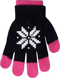 Czarne rękawiczki YoClub
