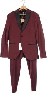 Fioletowy garnitur Isaac Dewhirst