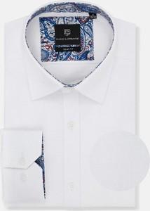 Koszula Pako Lorente z tkaniny z klasycznym kołnierzykiem