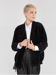 Czarny sweter Ochnik w stylu casual