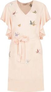 Sukienka Twinset z dekoltem w kształcie litery v
