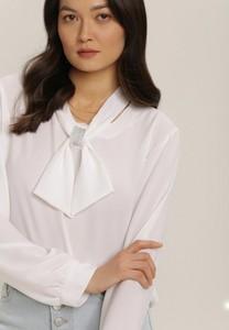 Bluzka Renee z długim rękawem z dekoltem w kształcie litery v