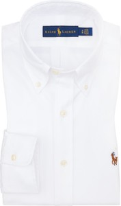 Koszula POLO RALPH LAUREN z kołnierzykiem button down z bawełny