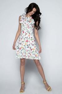 Sukienka Fobya mini z okrągłym dekoltem