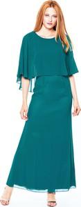 Zielona sukienka L'AF maxi