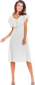 Sukienka Awama z tkaniny