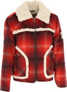 Płaszcz dziecięcy N°21 w krateczkę z bawełny