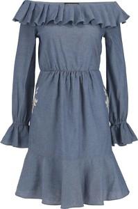 Sukienka Twinset z długim rękawem mini