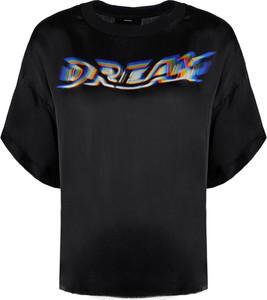 T-shirt Diesel z tkaniny
