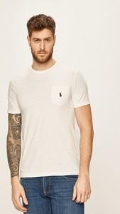 T-shirt POLO RALPH LAUREN z dzianiny z krótkim rękawem