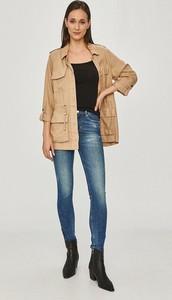 Brązowa kurtka Only w stylu casual