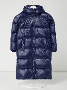 Granatowy płaszcz dziecięcy POLO RALPH LAUREN