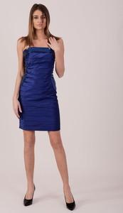 Niebieska sukienka Sheandher.pl mini hiszpanka
