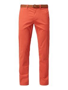 Pomarańczowe spodnie McNeal w stylu casual