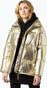 Złota kurtka Tommy Hilfiger