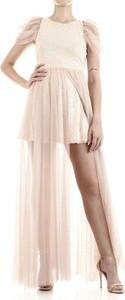 Różowa sukienka ANIYE BY bez rękawów maxi
