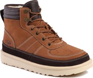 Brązowe buty zimowe UGG Australia