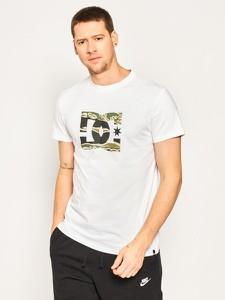 T-shirt DC Shoes z krótkim rękawem z nadrukiem