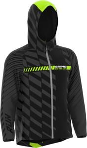 Czarna kurtka Smmash ze skóry ekologicznej