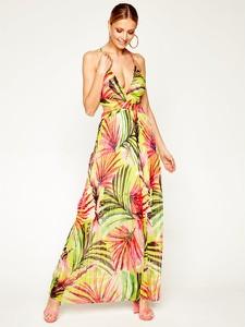 Sukienka Guess prosta z dekoltem w kształcie litery v