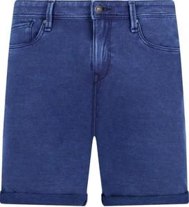 Niebieskie szorty Pepe Jeans w stylu casual