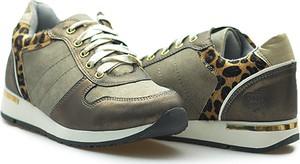 Sneakersy Fabulous Fabs sznurowane z płaską podeszwą