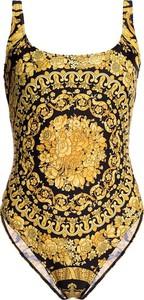 Żółty strój kąpielowy Versace